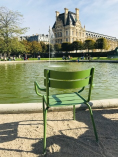 Obsessed with these green chairs